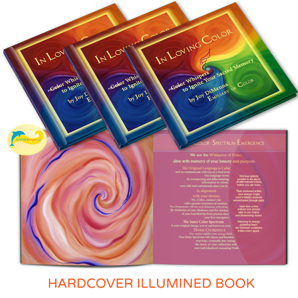 Hardcover Illumined Book - In Loving Color